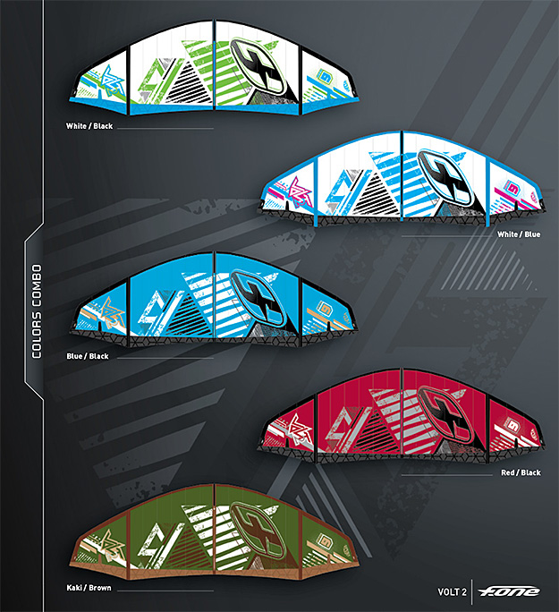 volt2 kites from fone new 2013 gear