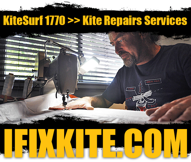 I Fix Kite :: Kite repair services from KiteSurf 1770