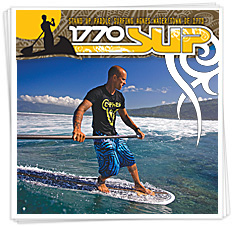 1770 SUP - Stand up paddle surfing in Agnes Water